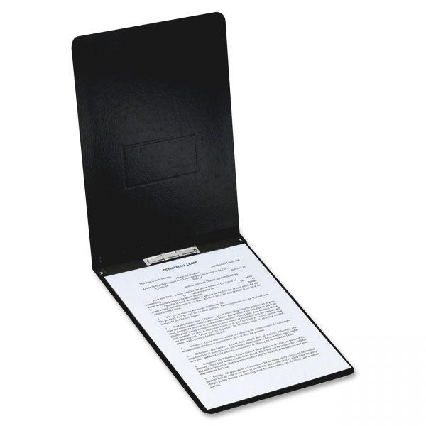 Oxford Black Pressboard Report Cover