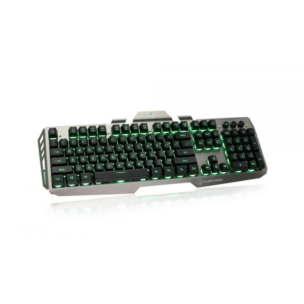 Iogear Kaliber Gaming HVER Aluminum Gaming Keyboard - Black/Gray