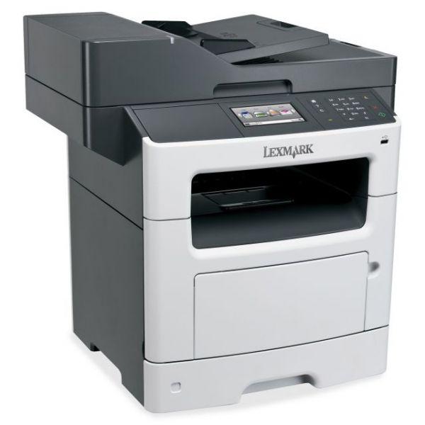 Lexmark MX510DE Laser Multifunction Printer - Monochrome - Plain Paper Print - Desktop