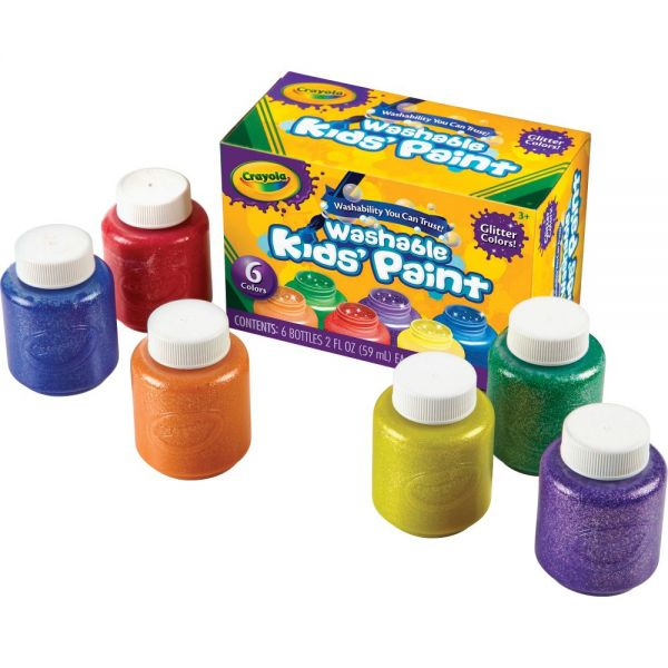 Crayola Glitter Washable Kids Paint