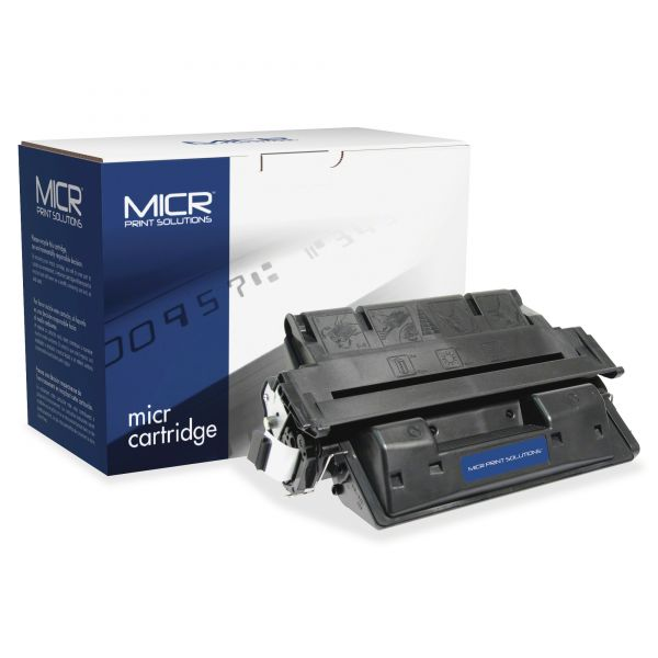 MICR Print Solutions Remanufactured HP C8061X Black High Yield Toner Cartridge