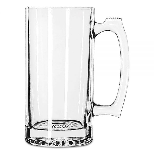 Libbey 25 oz Glass Sport Mugs