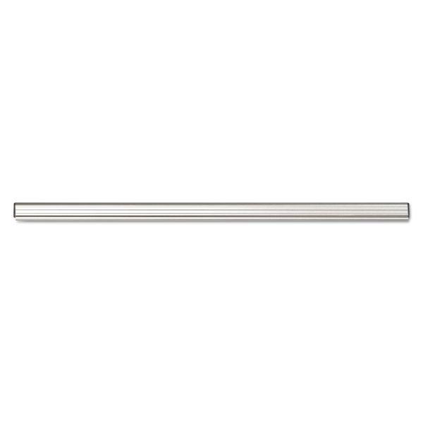 "Advantus Grip-A-Strip Display Rail, 24"" Long, 1 1/2"" High, Satin Aluminum Finish"