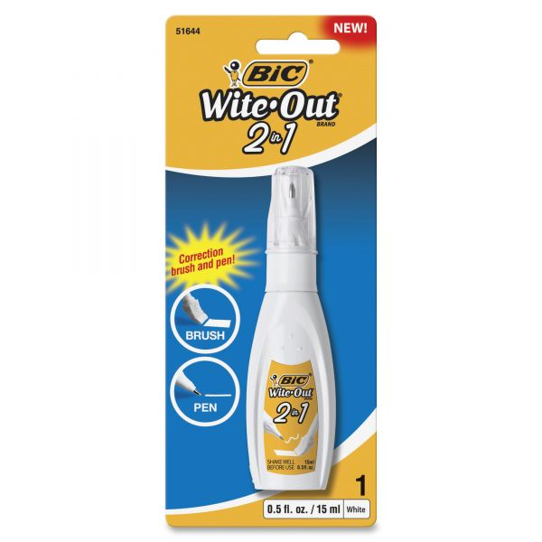 Wite-Out 2 in 1 Correction Fluid