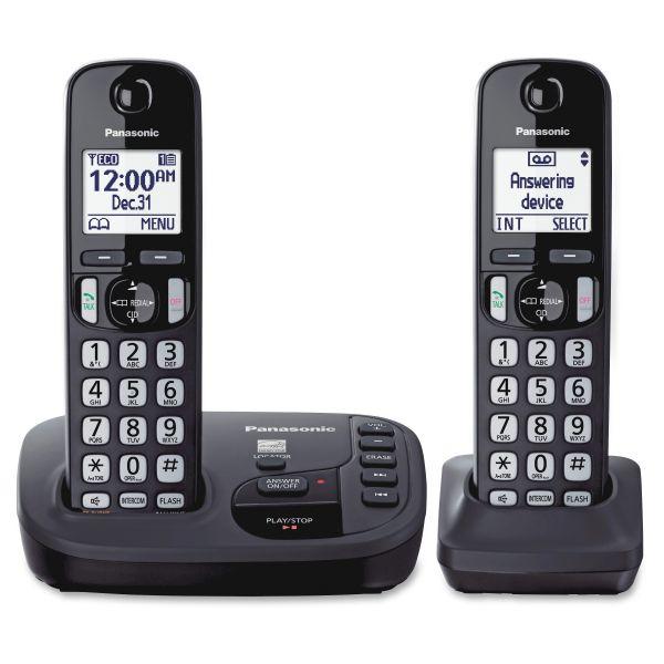 Panasonic KX-TGD222N DECT 6.0 1.90 GHz Cordless Phone - Champagne Gold