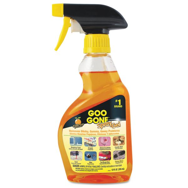 Goo Gone Spray Gel Surface Cleaner
