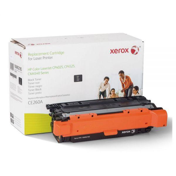 Xerox Remanufactured HP CE260A Black Toner Cartridge