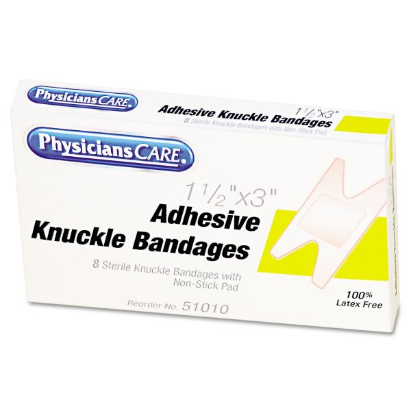 Physicians Care Adhesive Knuckle Bandages