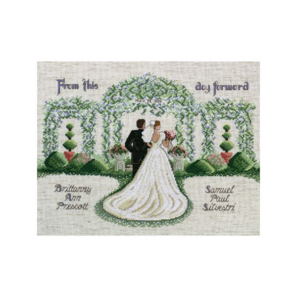 From This Day Forward Counted Cross Stitch Kit