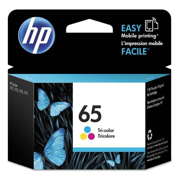 HP HP 65 (N9K01AN) Tri-Color Original Ink Cartridge