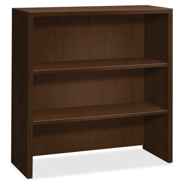 "HON 10500 Series Bookcase Hutch | 2 Shelves | 36""W"