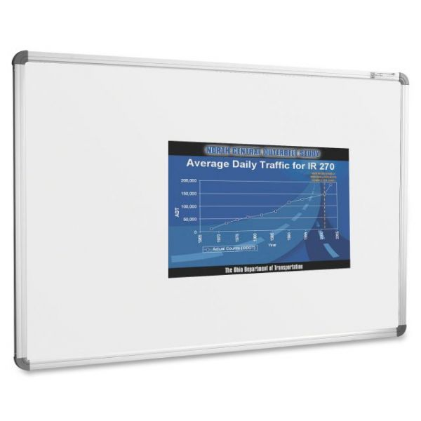Projection Plus 6' x 4' Magnetic Dry Erase Board