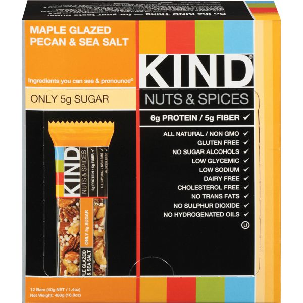 KIND Nuts & Spices Bars