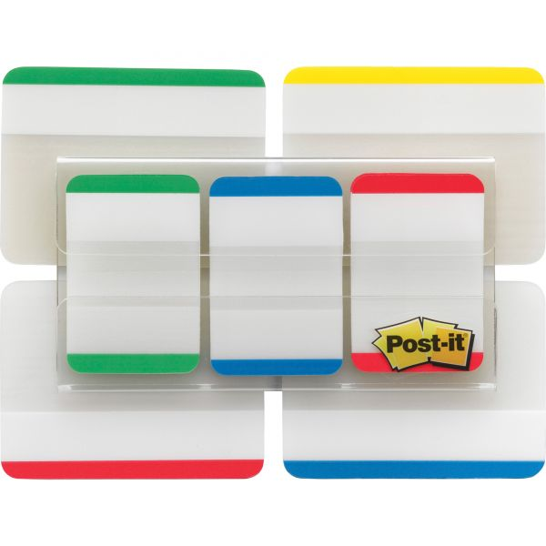 """Post-it Tabs Value Pack, 1"""" and 2"""" sizes, Assorted Primary Colors"""
