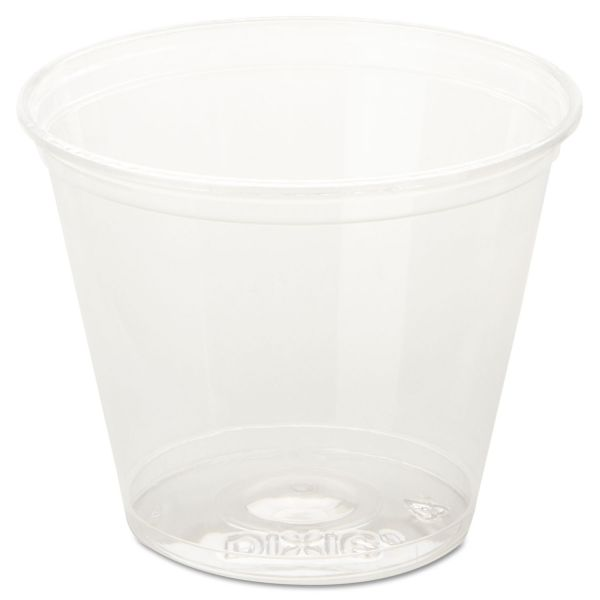 Dixie Squat 9 oz Plastic Cold Cups