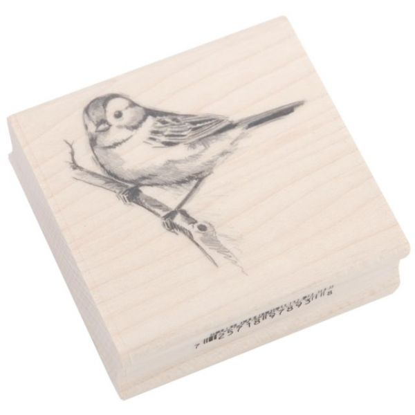 "Inkadinkado Mounted Rubber Stamp 2.25""X2.25"""