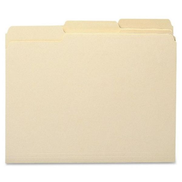 Sparco Recycled Manila File Folders