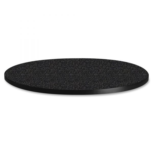 "Tiffany Industries Table Top, 30"" Round, Charcoal"
