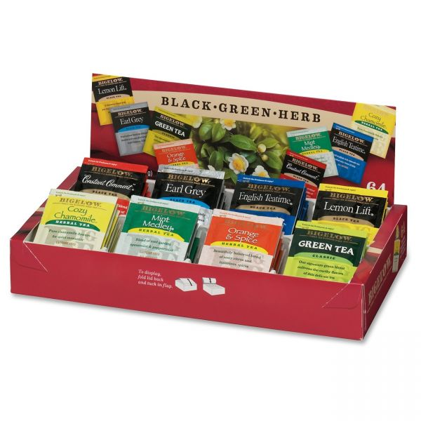 Bigelow Assorted Tea Tray Pack