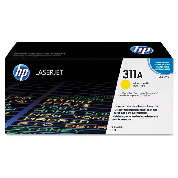 HP 311A Yellow Toner Cartridge (Q2682A)