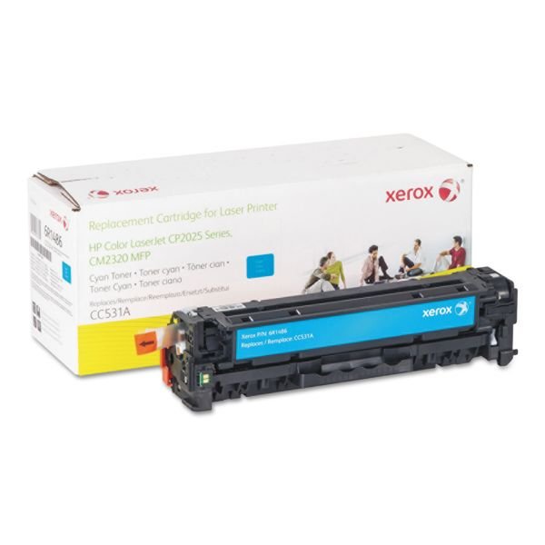 Xerox 006R01486 Replacement Toner for CC531A (304A), 2800 Page Yield, Cyan