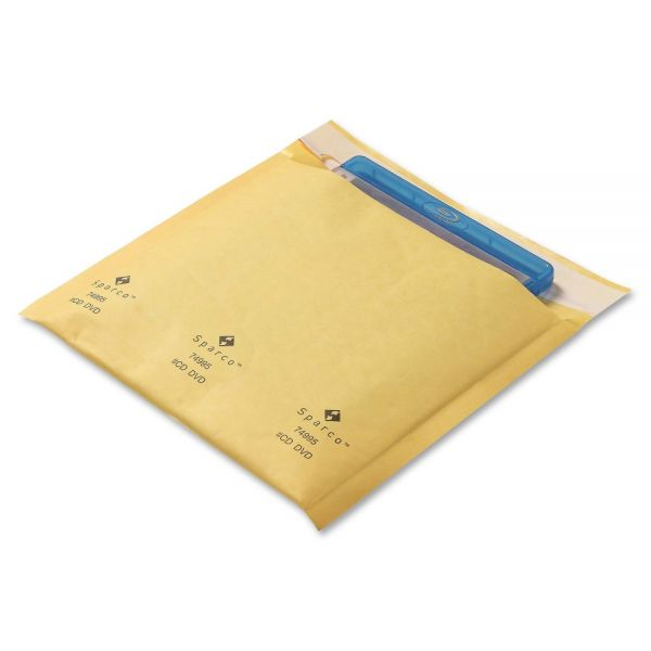 Sparco CD/DVD Cushioned Mailers