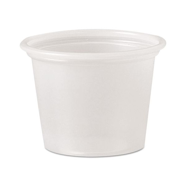 SOLO Cup Company Plastic 1 oz Portion Cups