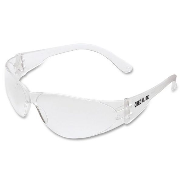 Crews Checklite Clear Lens Safety Glasses