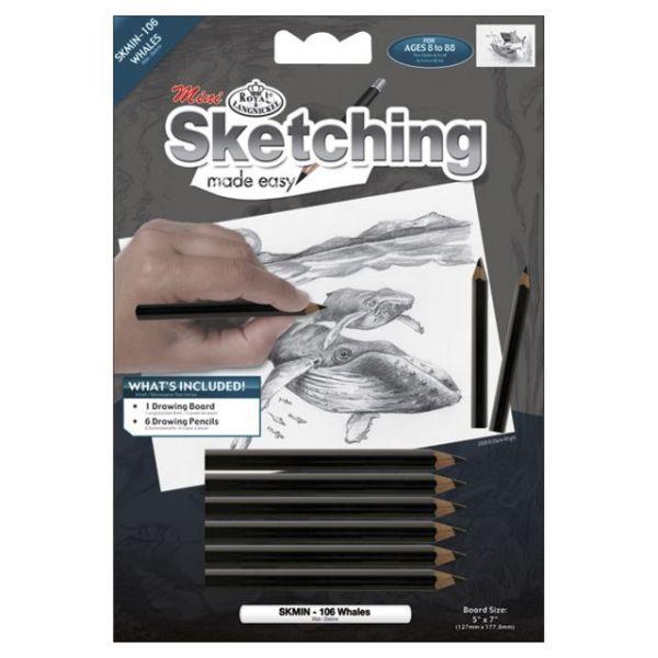 "Sketching Made Easy Mini Kit 5""X7"""