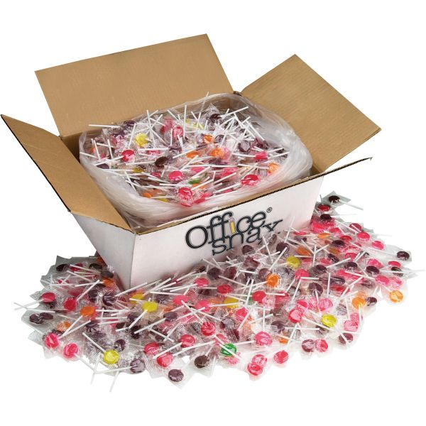 Lick Stix Suckers Individually Wrapped Hard Candy