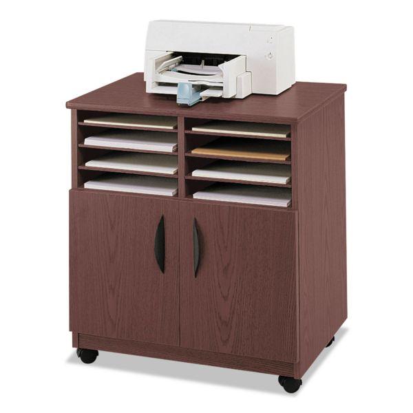Safco Mobile Machine Stand w/ Sorter