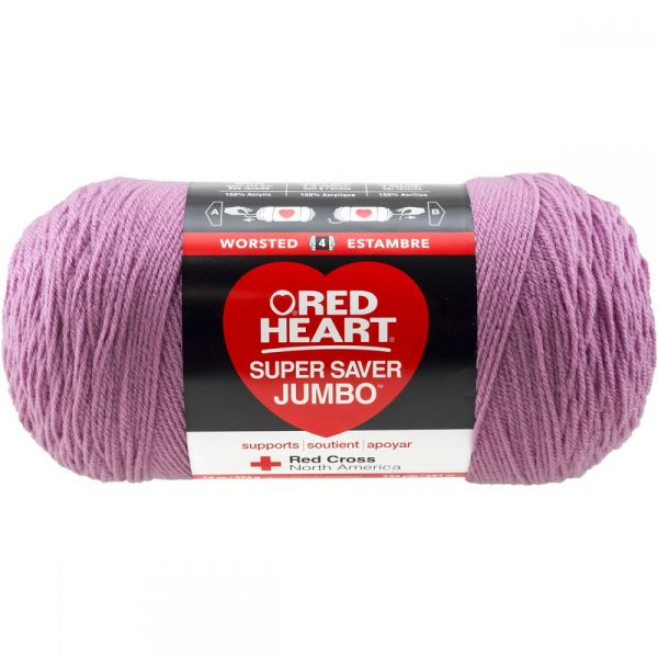 Red Heart Super Saver Yarn - Orchid