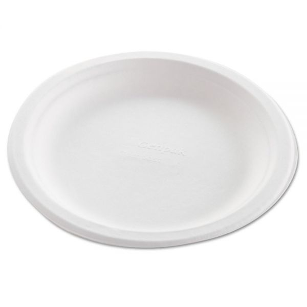 "Genpak 8.75"" Harvest Fiber Plates"