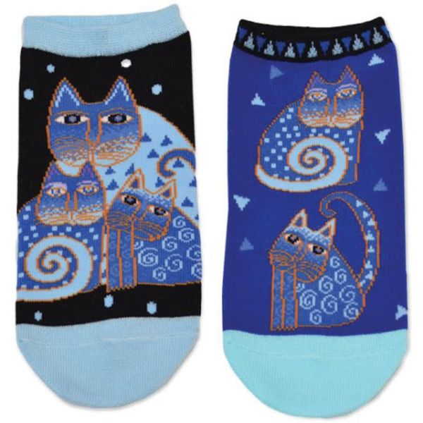 Laurel Burch Socks 2 Pair