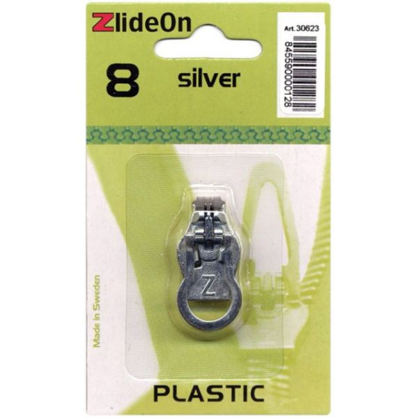 ZlideOn Zipper Pull Replacements Plastic 8