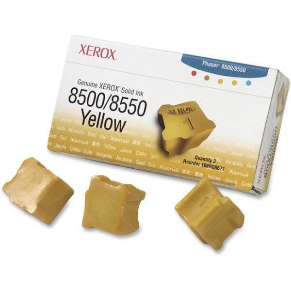 Xerox 108R00671 Yellow Solid Ink Sticks