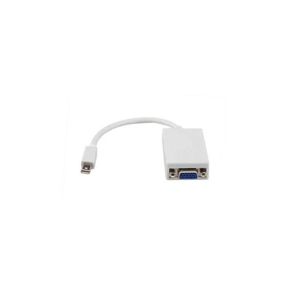 AddOn 20.00cm (8.00in) Micro-HDMI Male to VGA Female White Adapter Cable