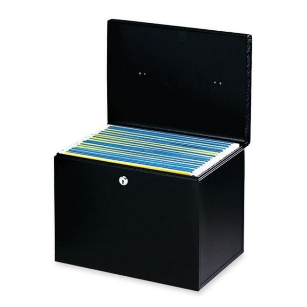 Buddy 0604 Hanging File Box with Two Keys