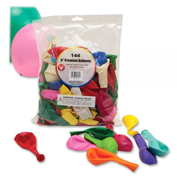 """Hygloss 9"""" Round Balloons"""
