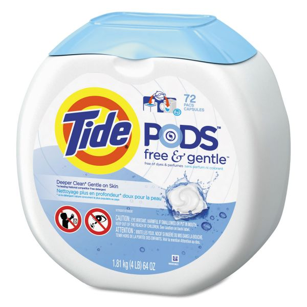 Tide Free & Gentle Laundry Detergent Pods