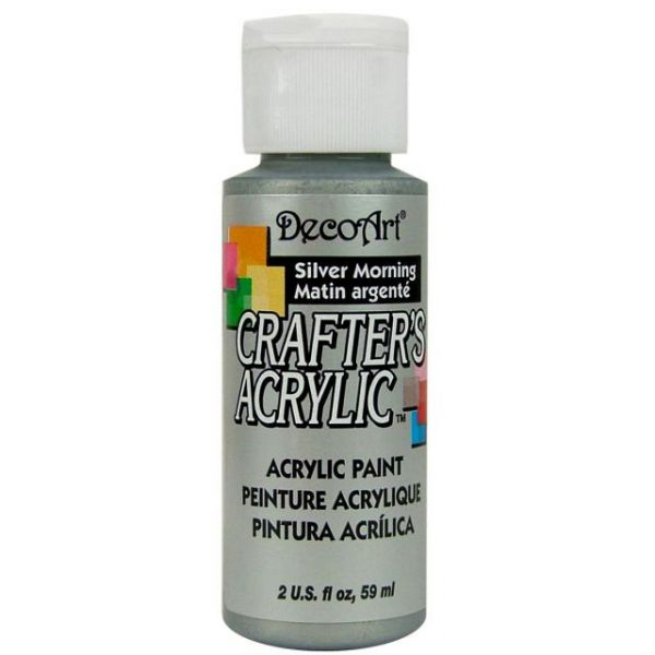 Deco Art Crafter's Acrylic Silver Morning Acrylic Paint