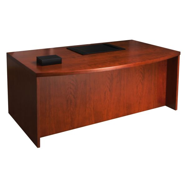 Mayline Mira Series Bowfront Desk Shell