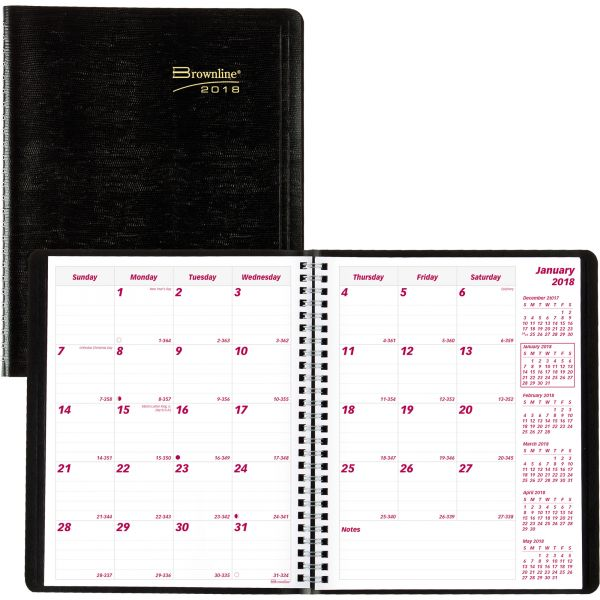 Brownline Monthly Planner