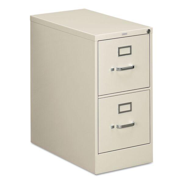 HON 310 Series Two-Drawer, Full-Suspension File, Letter, 26-1/2d, Light Gray