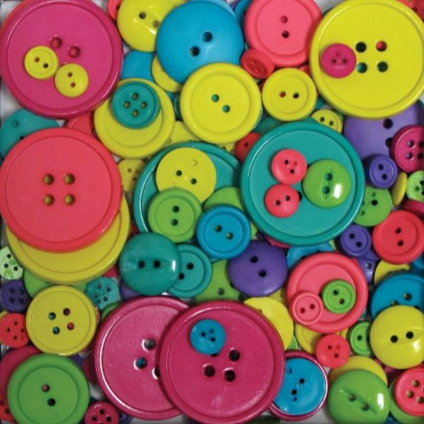 Favorite Findings Big Bag Of Buttons