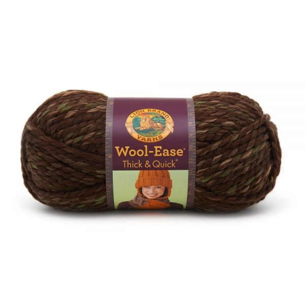 Lion Brand Wool-Ease Thick & Quick Yarn - Mesquite Print