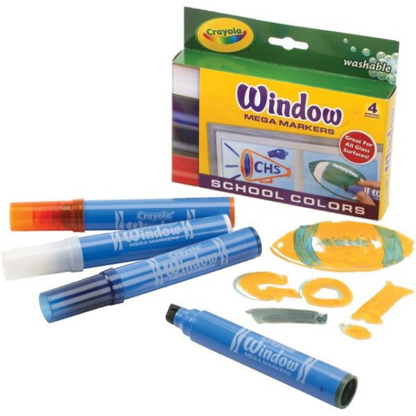 Crayola Washable Window Mega Markers