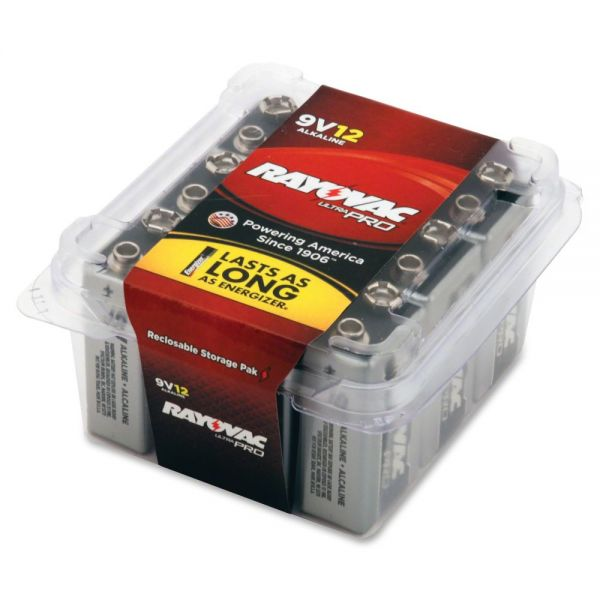 Rayovac Ultra Pro Alkaline 9V Batteries