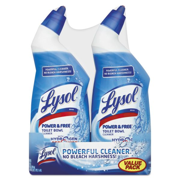 LYSOL Brand Power & Free Toilet Bowl Cleaner