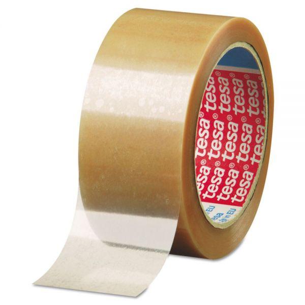 """tesa 646 Carton Sealing Tape, 2"""" x 55yd, 2mil, Polypropylene, Clear"""
